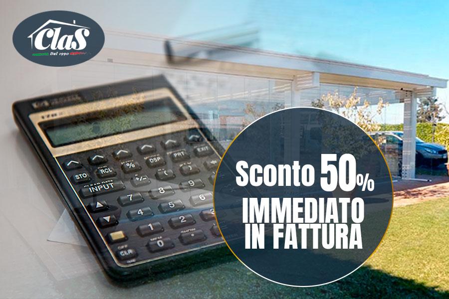Offerta schermature solari: Ecobonus al 50% diventa 50% di sconto in fattura!